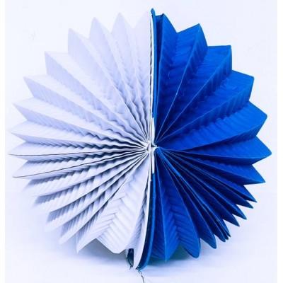 Farolillo Azul-Blanco 22cm...